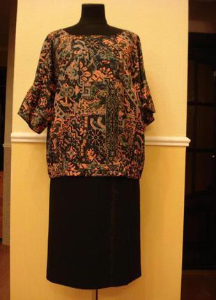 Летняя кофточка блузка рубашка с коротким рукавом