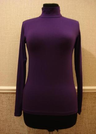Женский гольф трикотажная футболка с длинным рукавом.