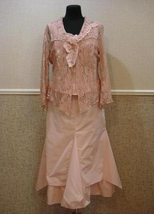 Вечернее платье нарядное платье костюм большого размера 16(xxl...