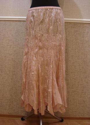 Нарядная юбка годе юбка в пол большого размера 20(4xl) бренд c...