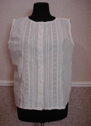 Летняя кофточка одежда в стиле боха блузка без рукавов бренд i...
