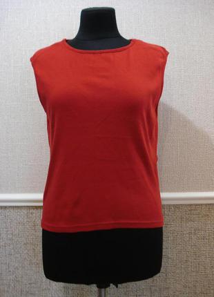 Трикотажная футболка летняя кофточка большого размера 18(xxxl)