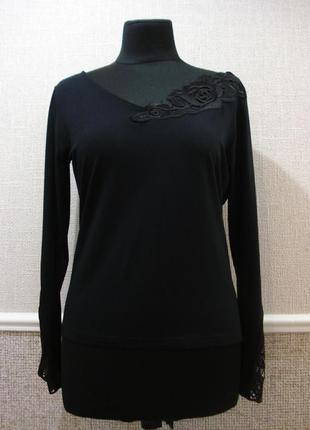 Трикотажная блуза с длинным рукавом большого размера 18(xxxl)
