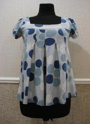Трикотажная блузка блузка для беременных летняя кофточка
