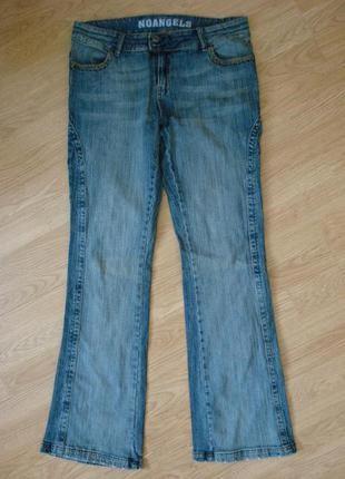 Потертые стрейчевые джинсы бойфренды бренд noangels