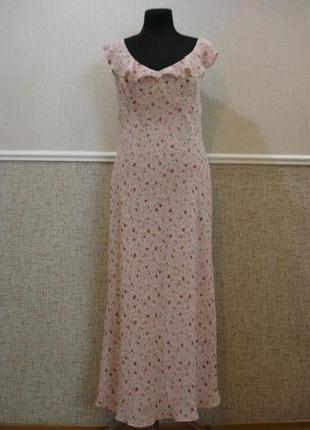 Летнее нежное платье подойдет для беременных большого размера ...