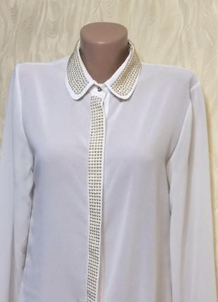 Нарядная блуза с декором, р.12