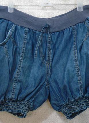 Летние легкие джинсовые шорты бренд foglie rosse