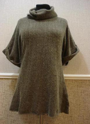 Туника свитер из ангоры с воротником  разм.