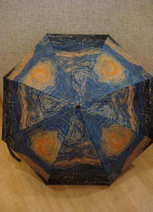 Женский зонт полуавтомат vinsent бренд sun & rain