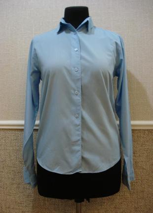 Классическая удлиненная рубашка с воротником бренд st.bernar.
