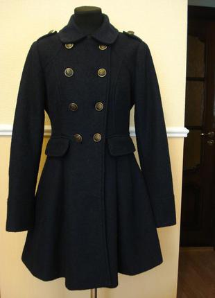 Шерстяное осеннее весеннее пальто