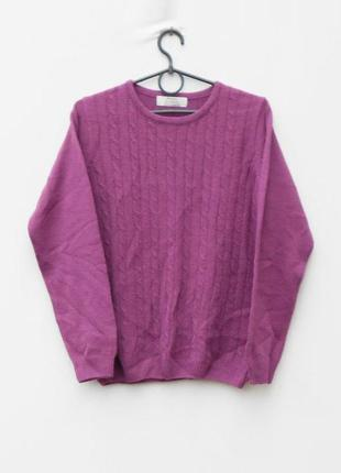 Осенний зимний вязаный свитер с косами с длинным рукавом honor...