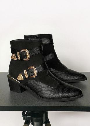Невероятные трендовые ботинки в ковбойском стиле missguided (к...