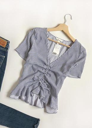 Обалденная нежная блуза h&m (рубашка)