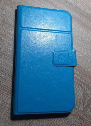 Чехол книжка для смартфона, диагональ 5,2-5,8