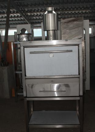 Хоспер ПДУ -800, печь на дровах, мангал
