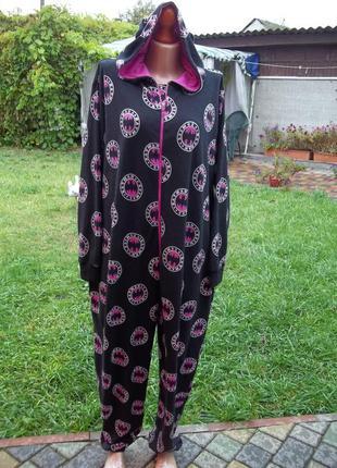 ( 50 / 52 р) batman домашний комбинезон пижама кигуруми (унисекс)