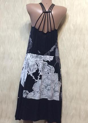 Платье сарафан из натуральной ткани next, р.18_