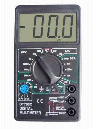 Мультиметр DT 700C со звуком и термометром