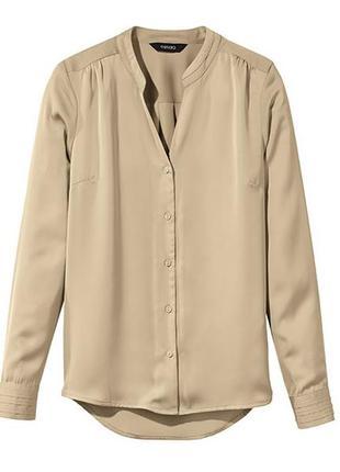 Элегантная шифоновая блузка рубашка блуза esmara германия
