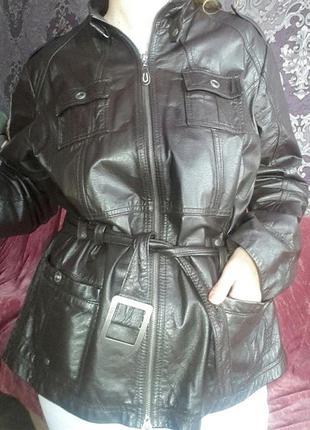 Куртка деми натуральная кожа cecil