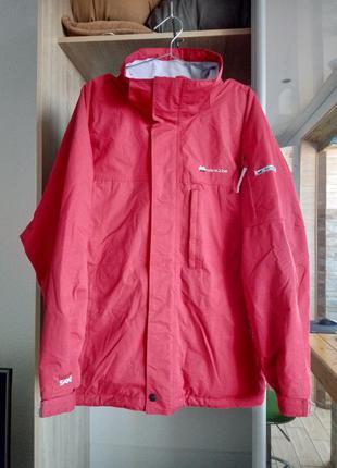 Куртка dare2be мужская лыжная сноубордическая красная мембрана