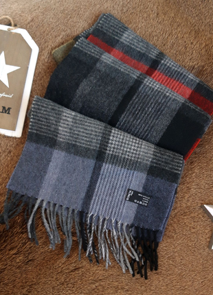Мужской шерстяной шарф