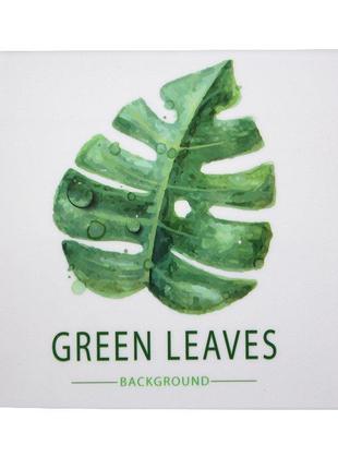 Держатель для туалетной бумаги Bathlux закрытый Green Leaves 5...