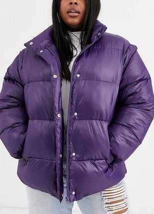 Куртка трансформер / жилетка большого размера