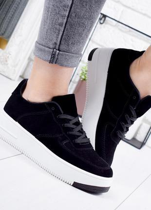 ❤ женские черные кроссовки ❤