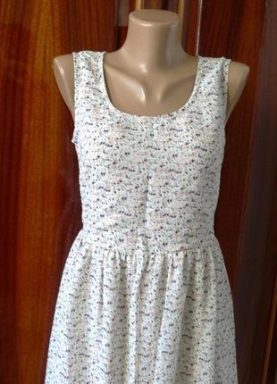 Платье  светлое нарядное  (индия)