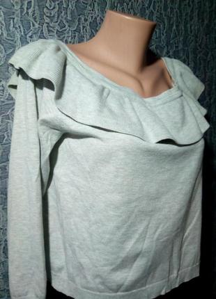 Мягусенькие укороченный свитер.