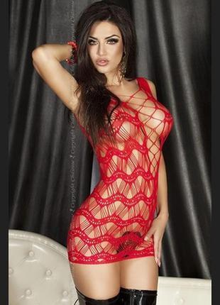 5-132 пеньюар сітка сексуальное белье пеньюар-сетка эротическо...