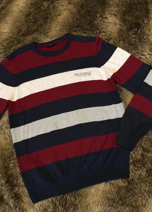 👍🏻 крутой свитер в полоску lc waikiki, турция