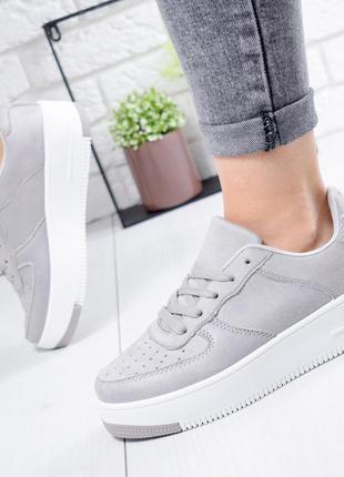 ❤ женские серые кроссовки ❤
