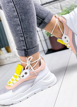 ❤ женские пудровые кроссовки ❤