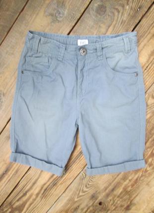 Котоновые шорты f&f джинсовые шорты на 8-9 лет состояние идеал...