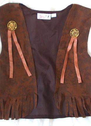 Жилет маскарадный для девушки-ковбоя 44-46 размера