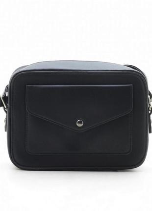 Клатч черный 11854 black сумка кросс боди