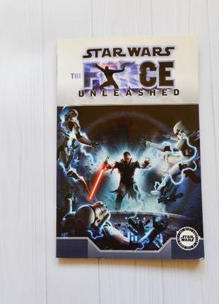 Книга комикс звездные войны star wars the force unleashed