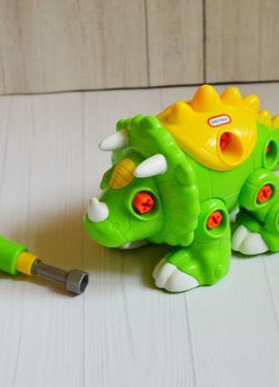 Конструктор для малышей динозавр