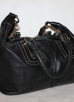 Стильная кожаная сумка the sak 100% натуральная кожа/два вида ...