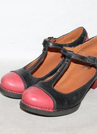 Кожаные туфли в стиле мэри джейн от the art company 41 размер ...