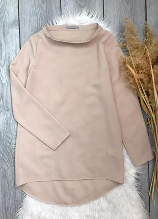 🔥акция 3=5🔥cos блузка блуза удлиненная телесного бежевого цвет...