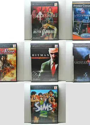 Диски с Играми для Sony PlayStation 2 (PS2)