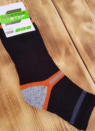 """Носки махровые до голенища """"спорт"""", размер 37-39"""