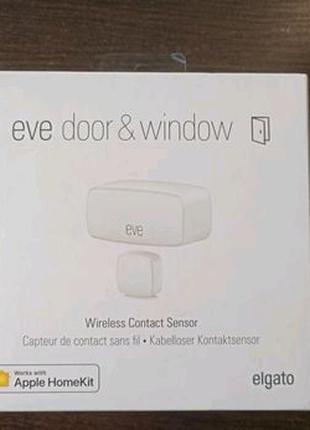 Датчик открытия дверей и окон Elgato Eve Door & Window умный дом