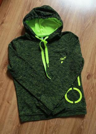 Очаровательно теплое худи с большим лого adidas neo
