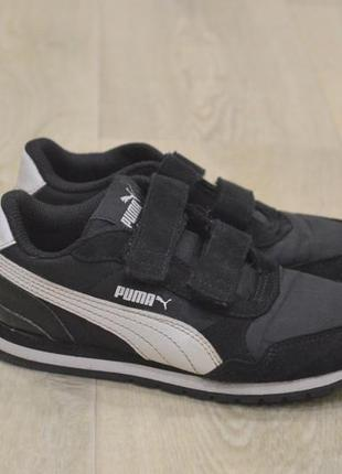 Puma детские кроссовки на мальчика на липучках